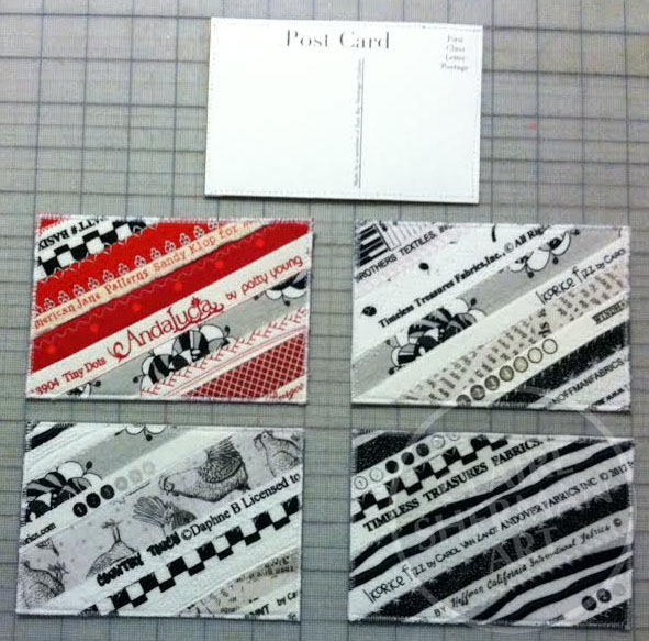 Postcards for Voices In Cloth