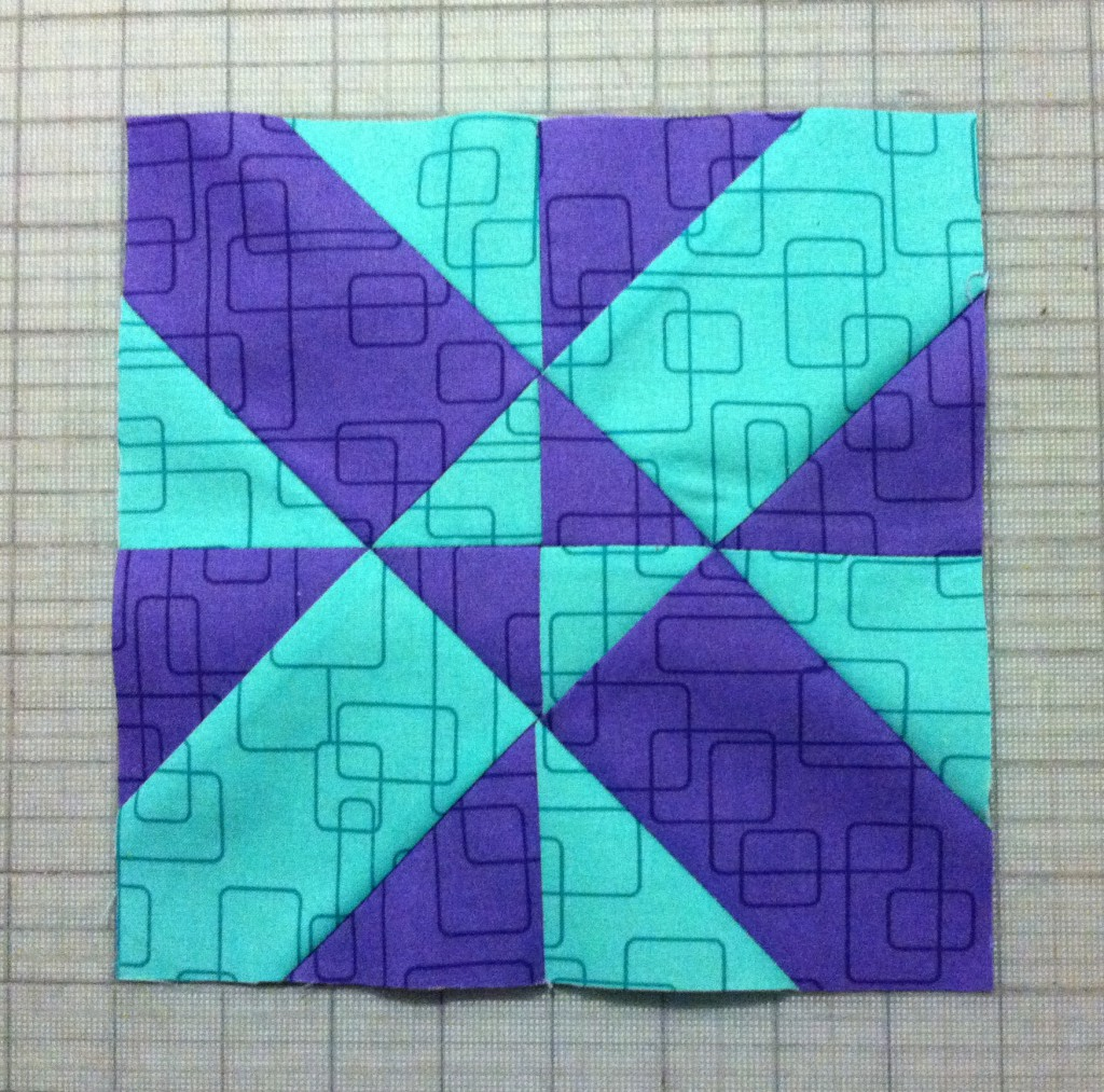 diagonal four patch