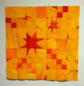 mystery quilt, not quilted