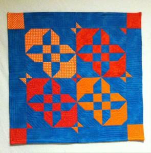 D9 hourglass quilt