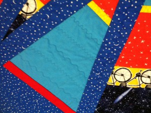detail Buzz quilting