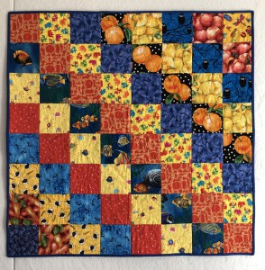 Cerries baby quilt