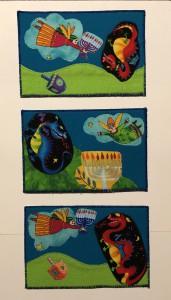 Chanukah postcards