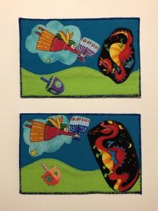 Chanukah postcards 2